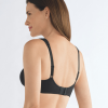 Mona non-wired soft bra – Black