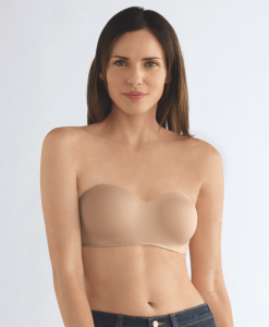 Barbara Strapless Underwired Bra - Nude