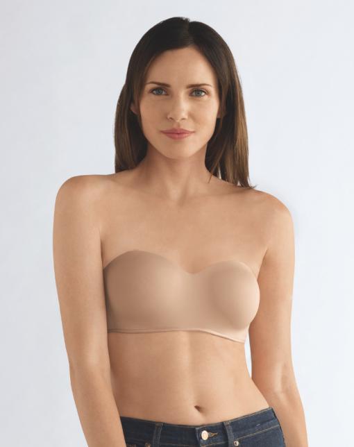 Barbara Strapless Underwired Bra - Nude