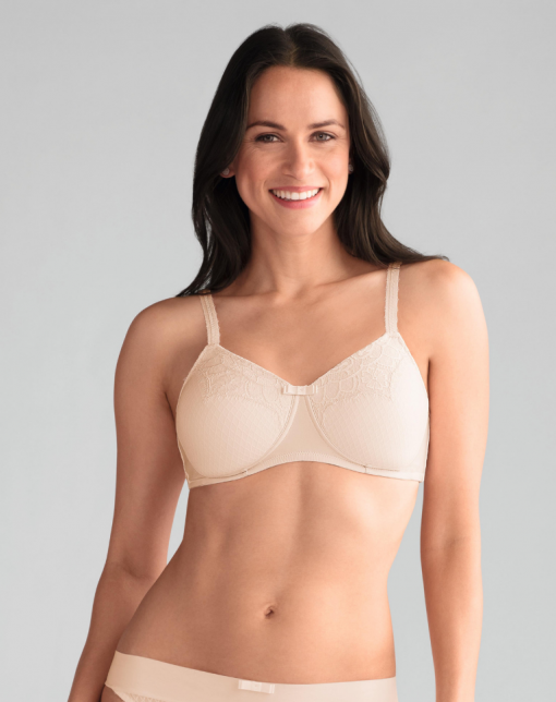 Fiona Non Wired Bra - Light Rose