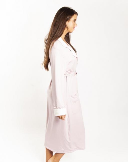 Love & Lustre Sherpa Blush Pink Robe