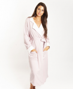 Love & Lustre Sherpa Blush Pink Robe