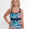 One Summer Beachwear one piece floral swimsuit