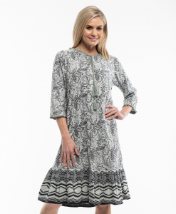 Victoria's Dream Jaipur Paisley Long Sleeve Nightie
