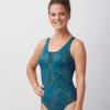 Futuna One-Piece Zipper Swimsuit